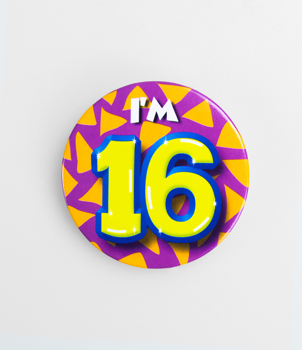 Button I'm 16