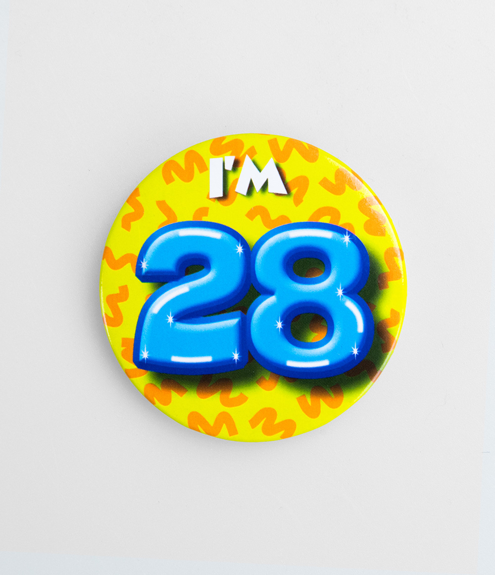 Button I'm 28