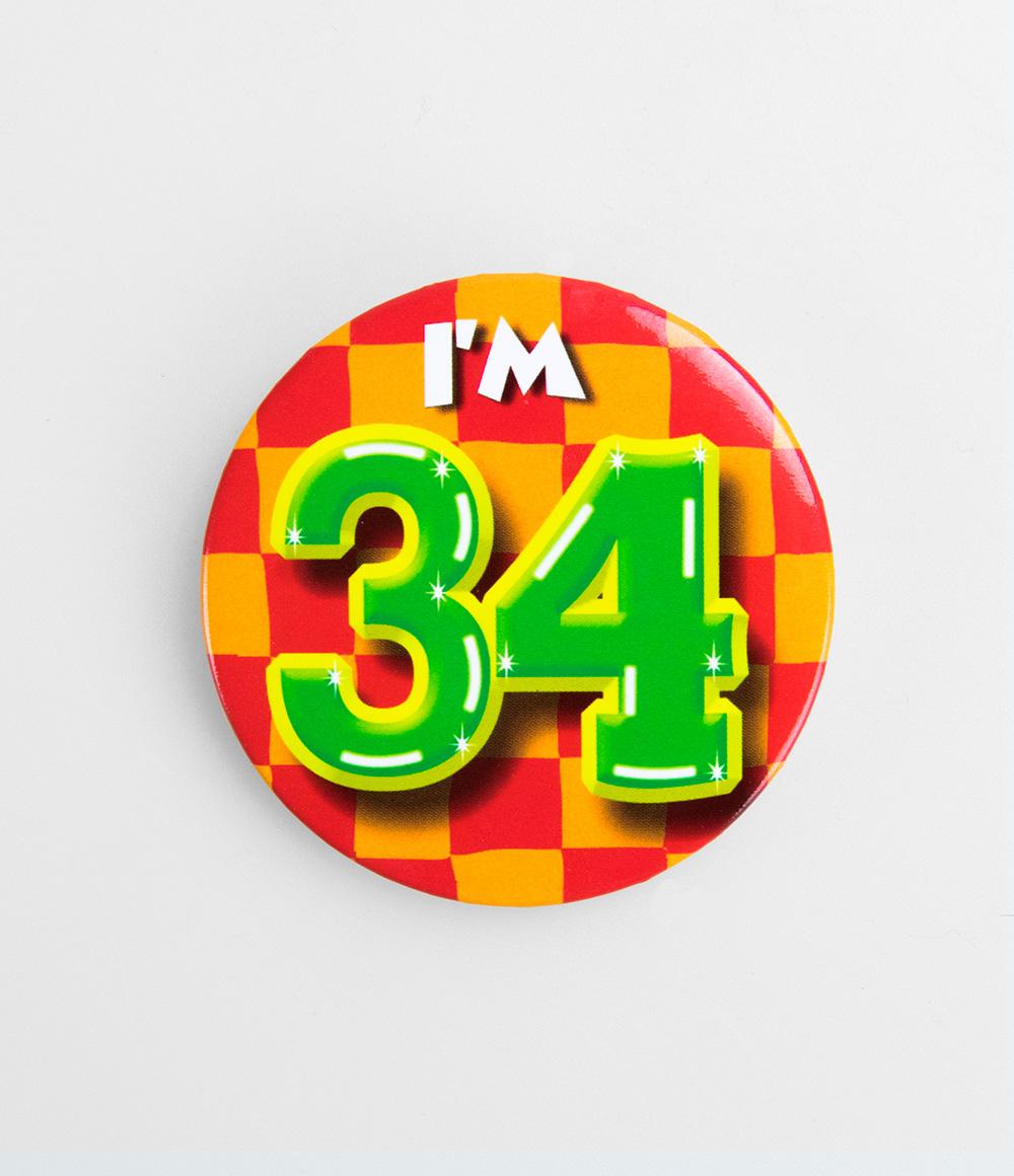 Button I'm 34