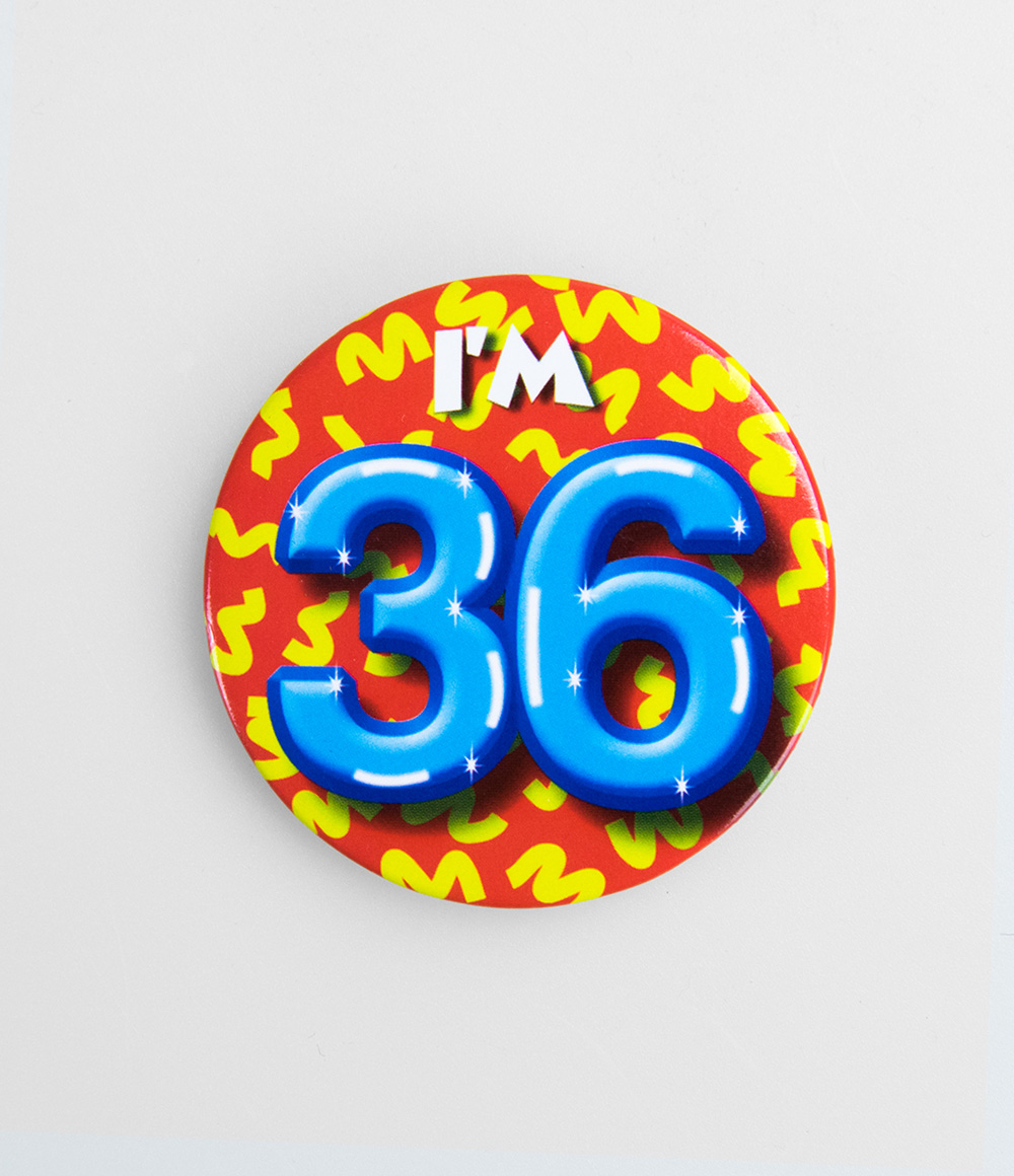 Button I'm 36