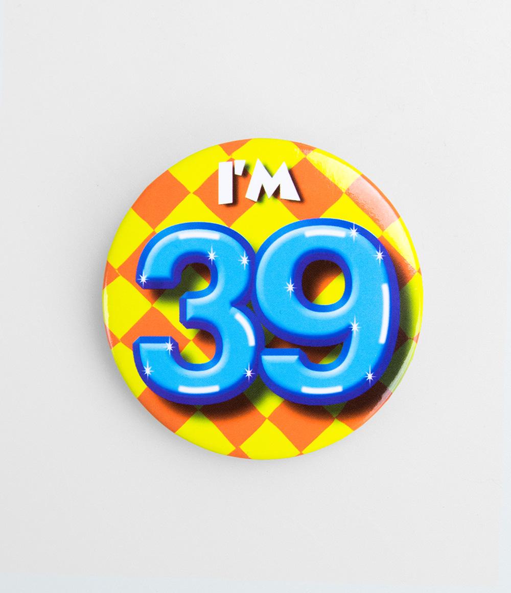 Button I'm 39