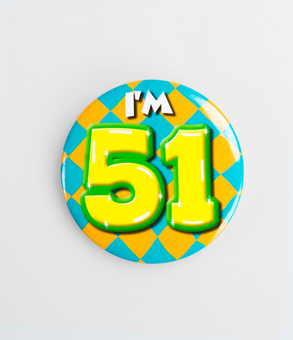 Button I'm 51