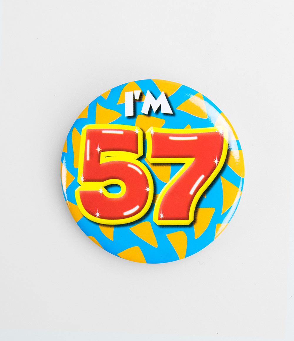 Button I'm 57