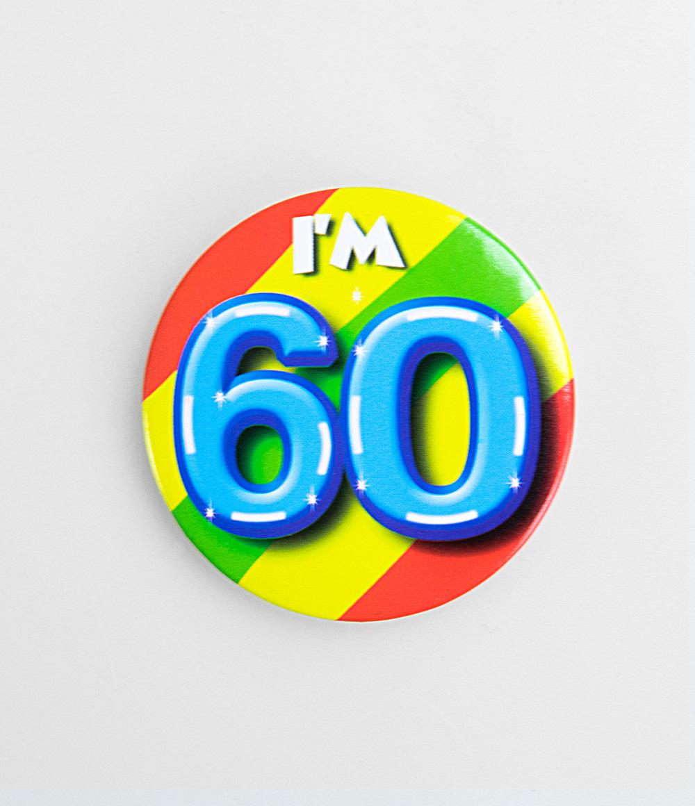 Button I'm 60