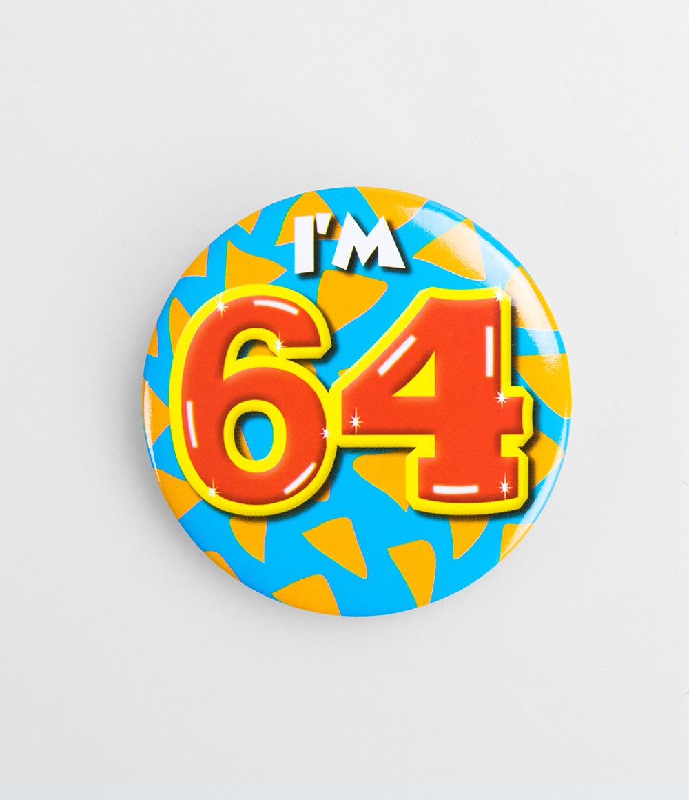 Button I'm 64