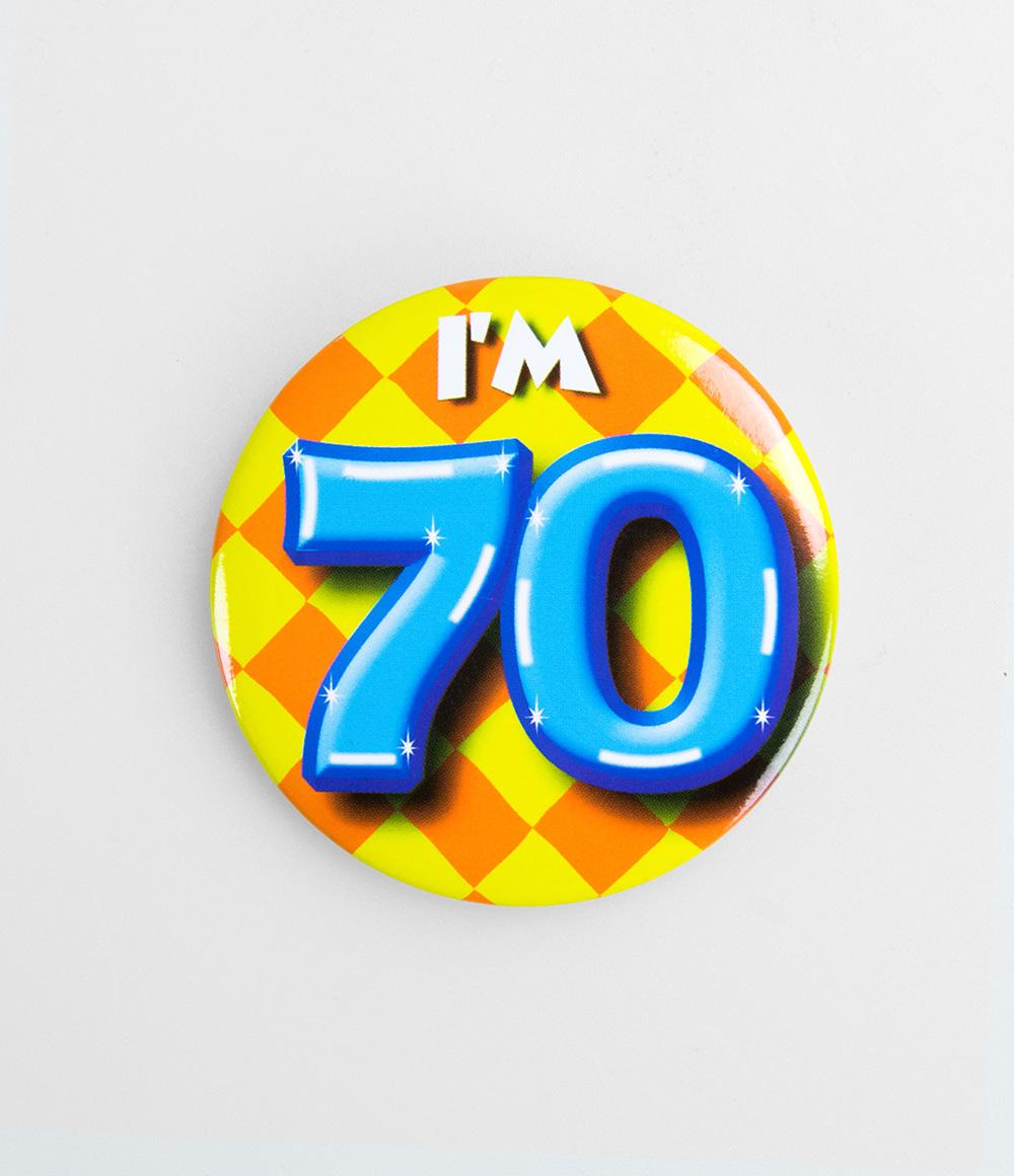 Button I'm 70