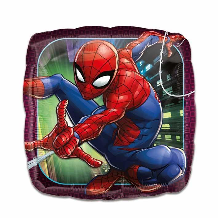 Folieballon Spiderman 43cm