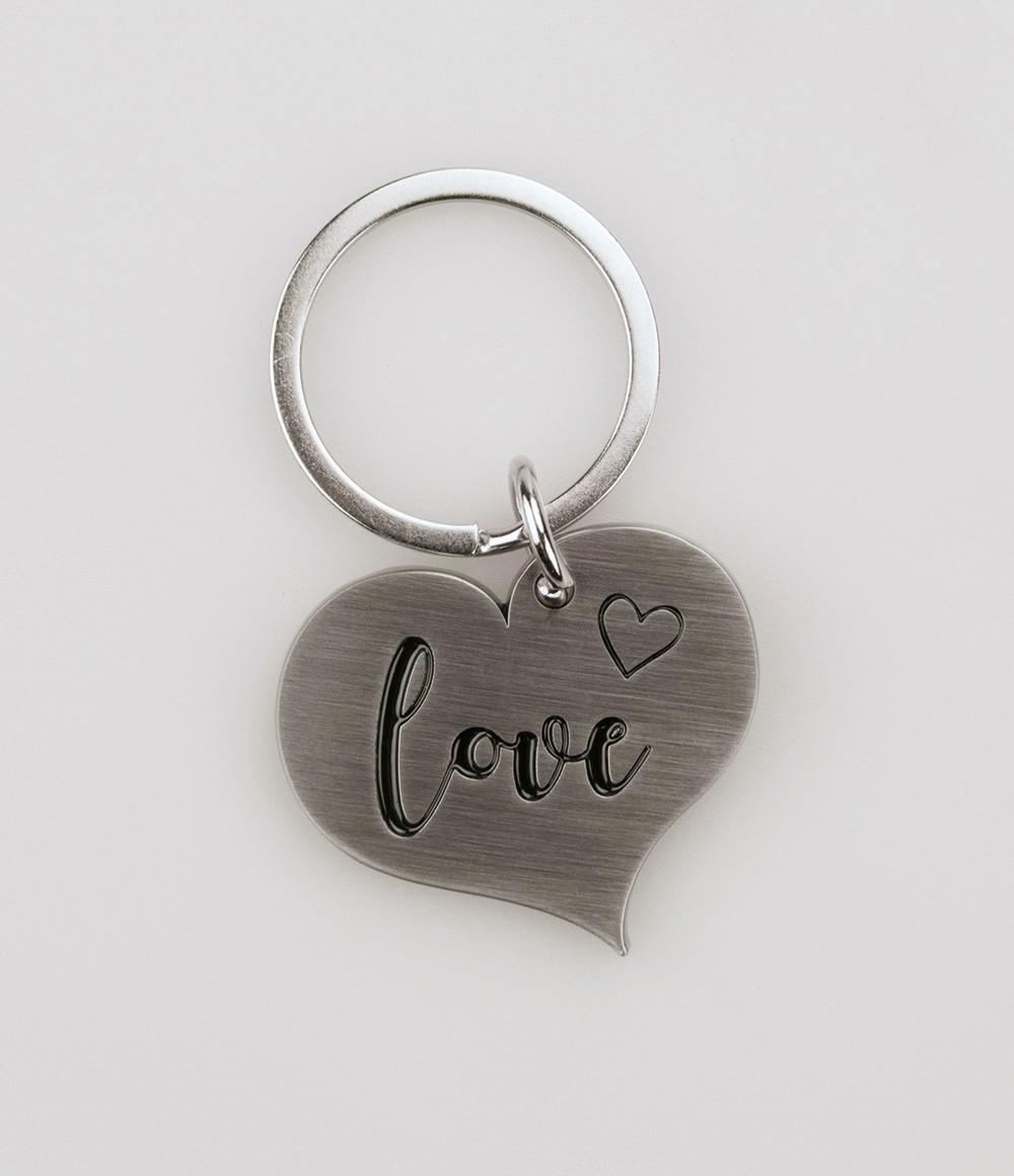 Hart Sleutelhanger Love