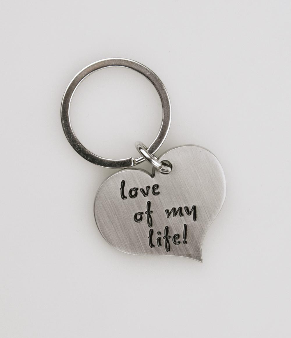 Hart Sleutelhanger Love of my life