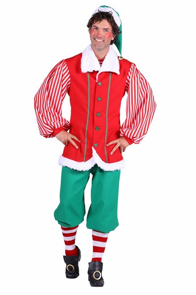 "Kostuum Elf ""Santa's Helper"" Heren"