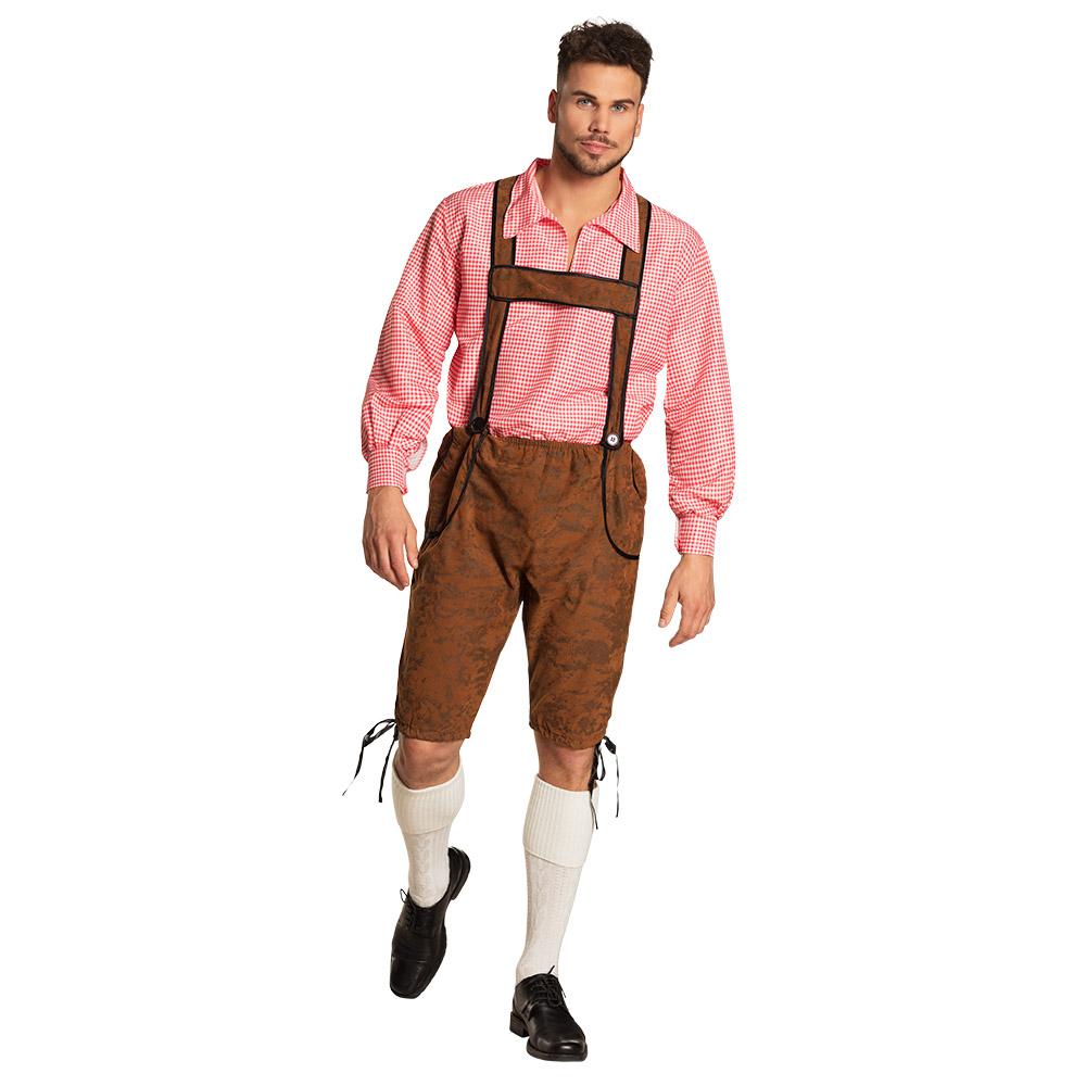 Kostuum Oktoberfest Broek en Blouse Heren