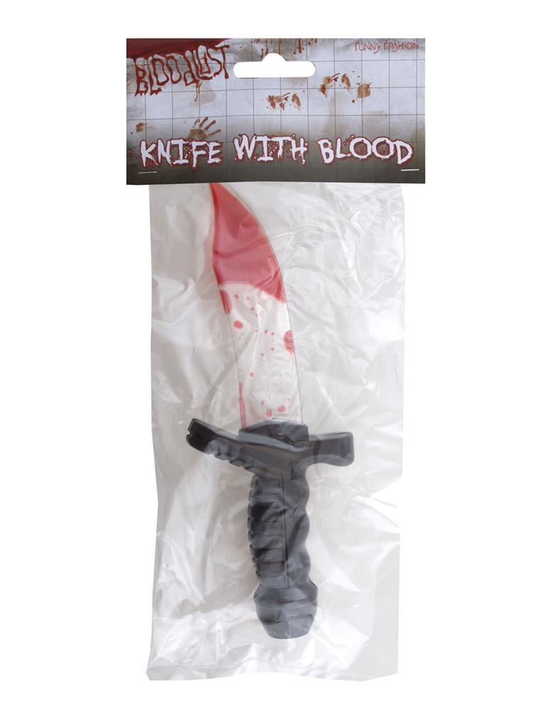 Mes met Vloeibaar Bloed 25cm