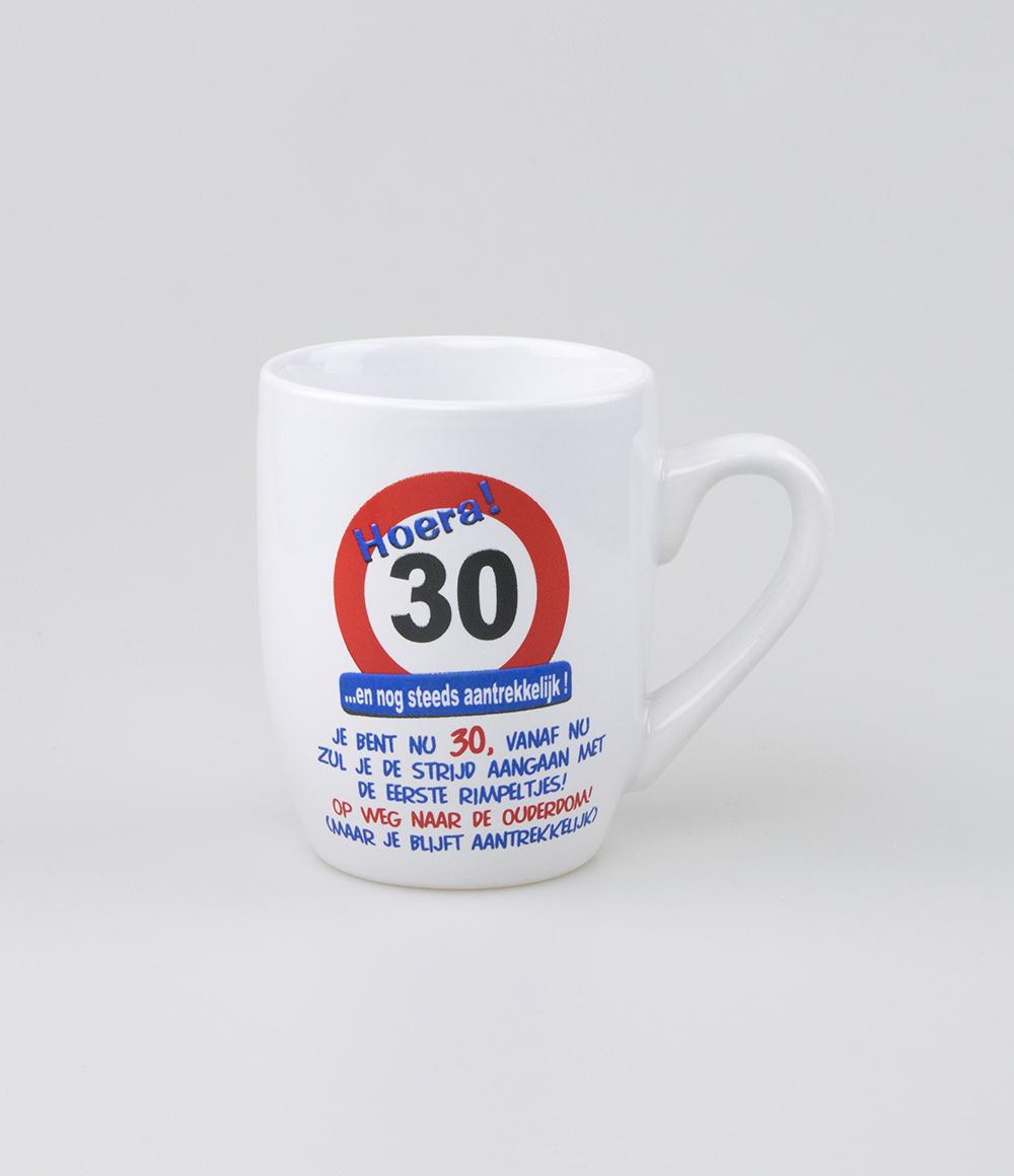 Mok Verkeersbord 30 jaar