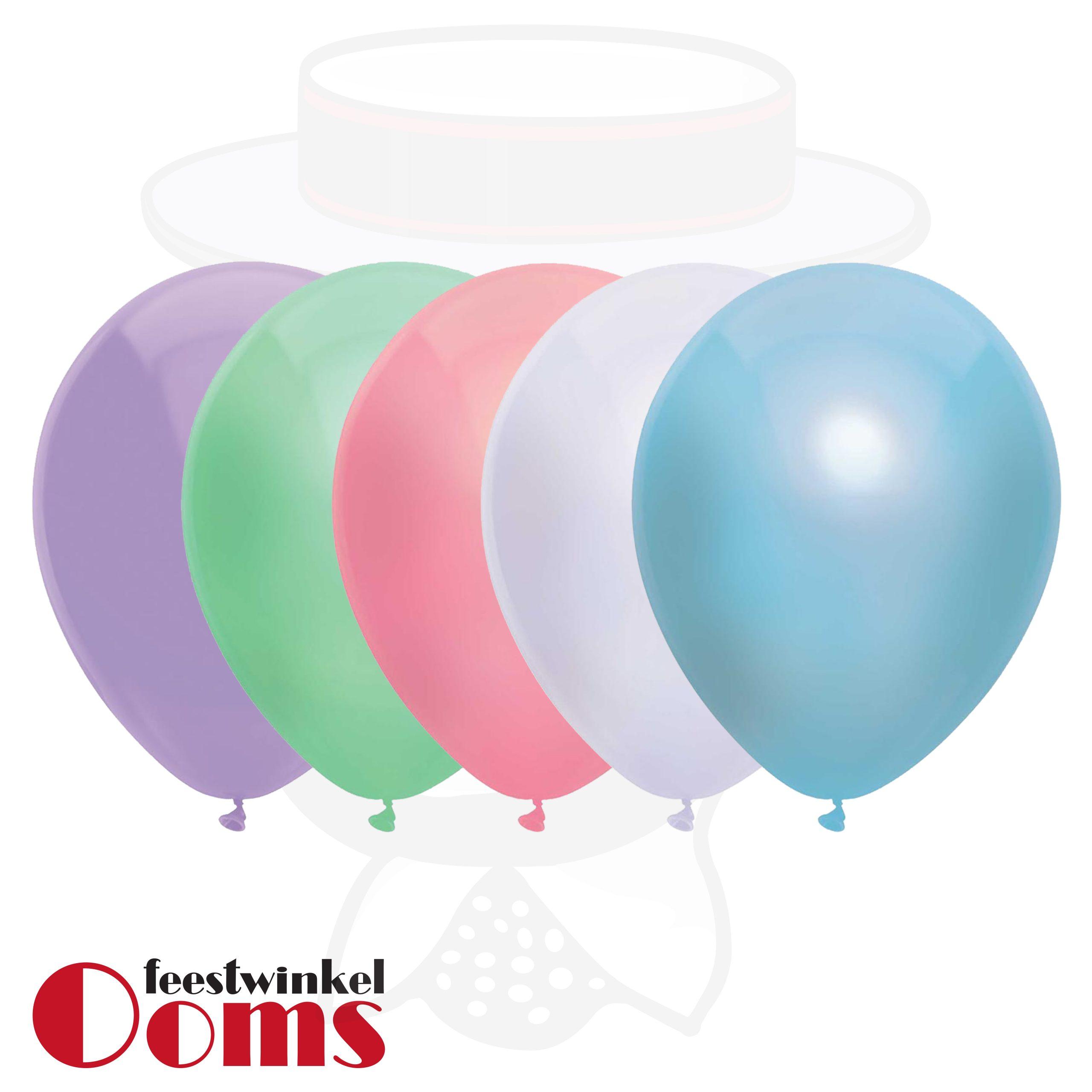 """25st Pearl Ballonnen Pastel Kleuren 14"""""""
