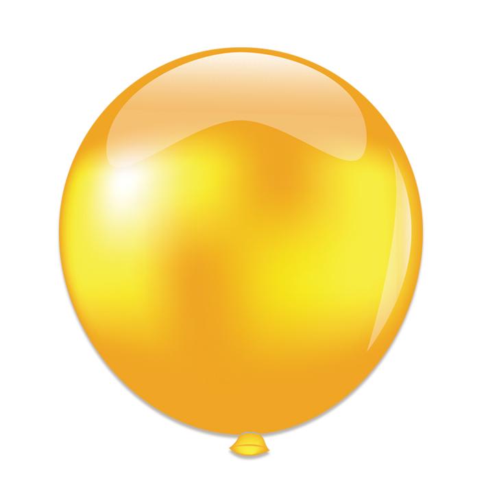 Reuze Ballon 60cm Pearl Goud