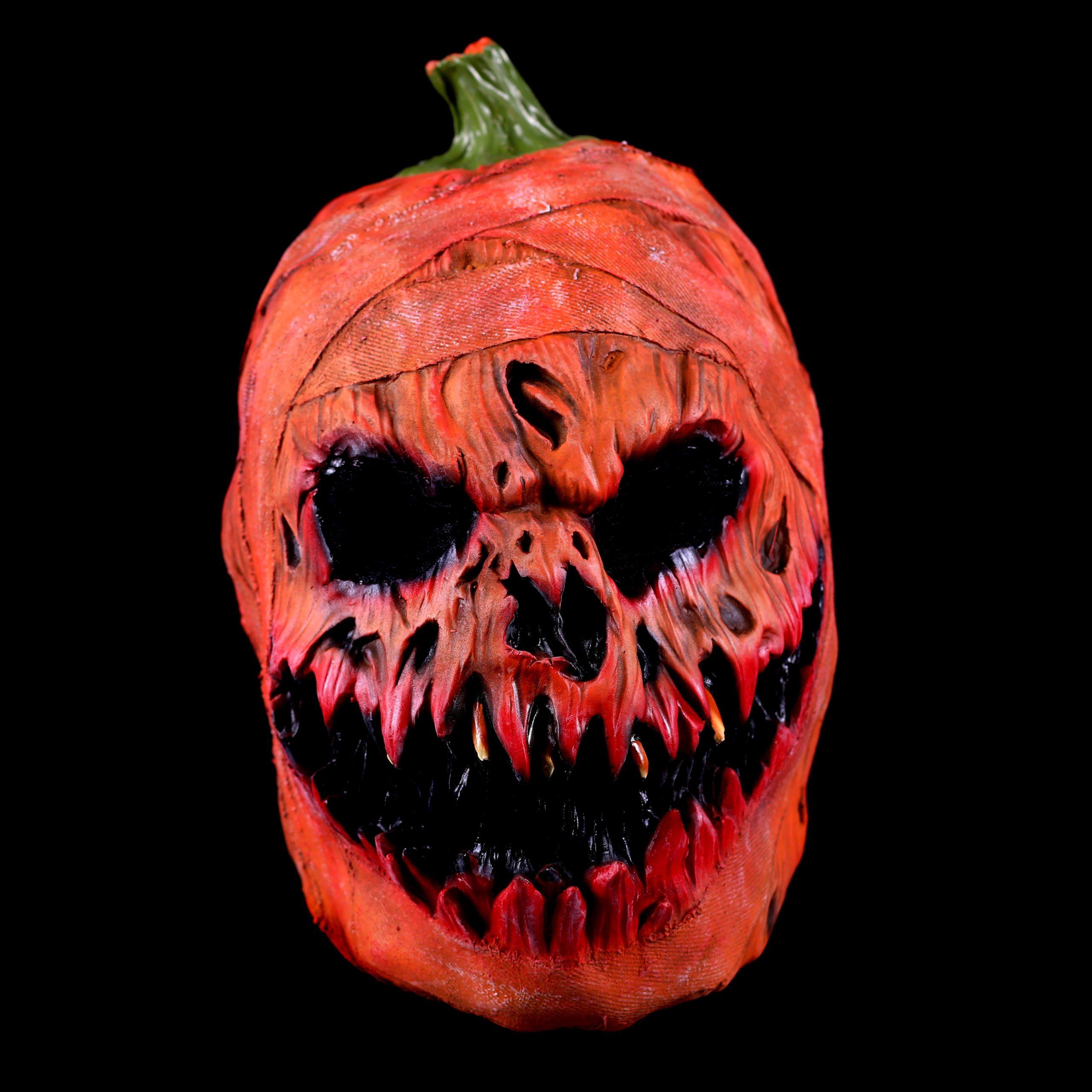 Rubber Masker Scary Pompoen
