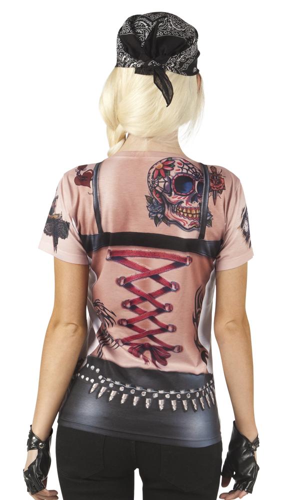 Shirt Fotoprint Rider Dames