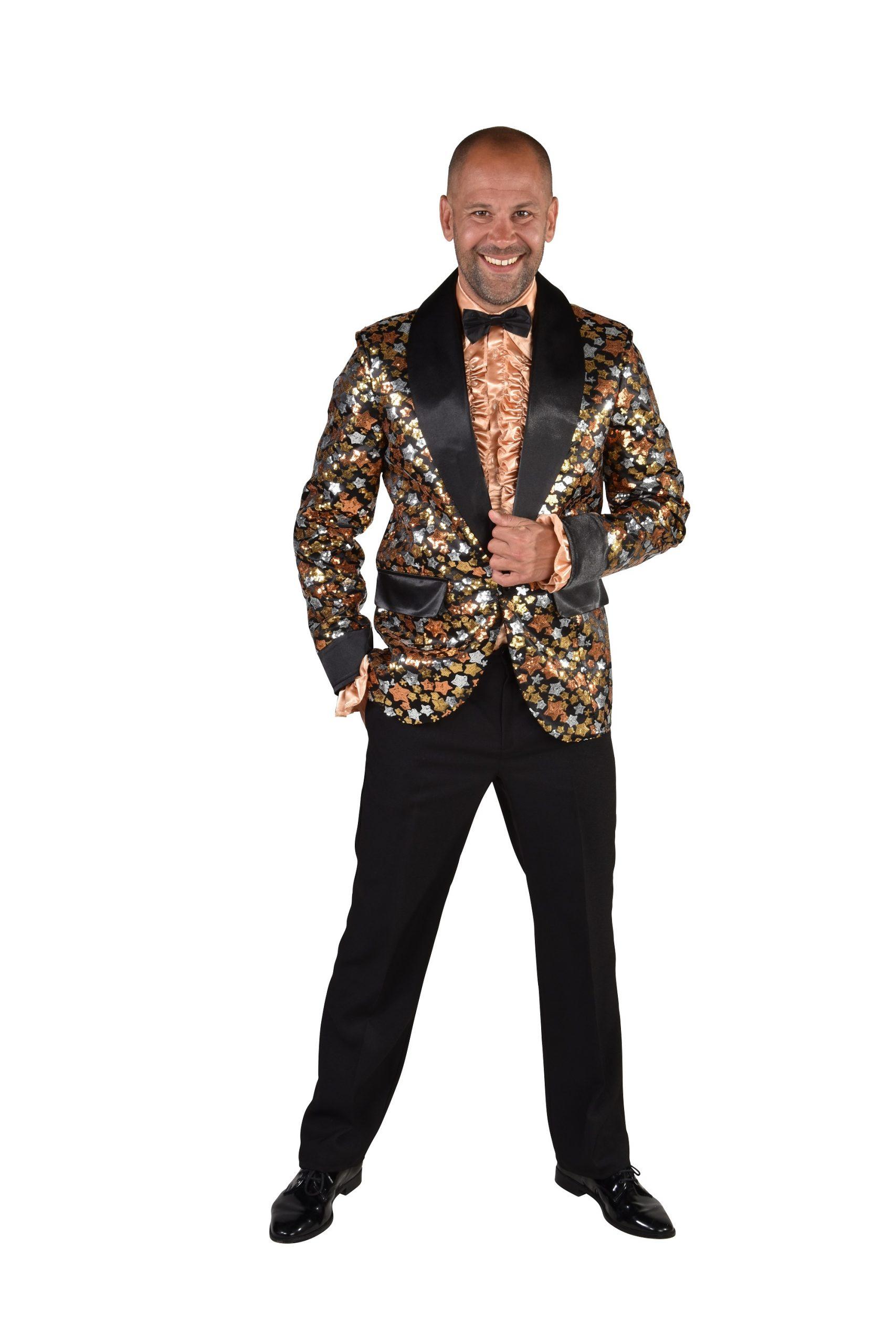 Colbert Glitter Sterren G/Z/B Heren
