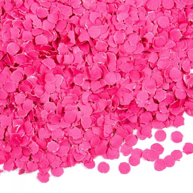Confetti Roze 1cm 100gram
