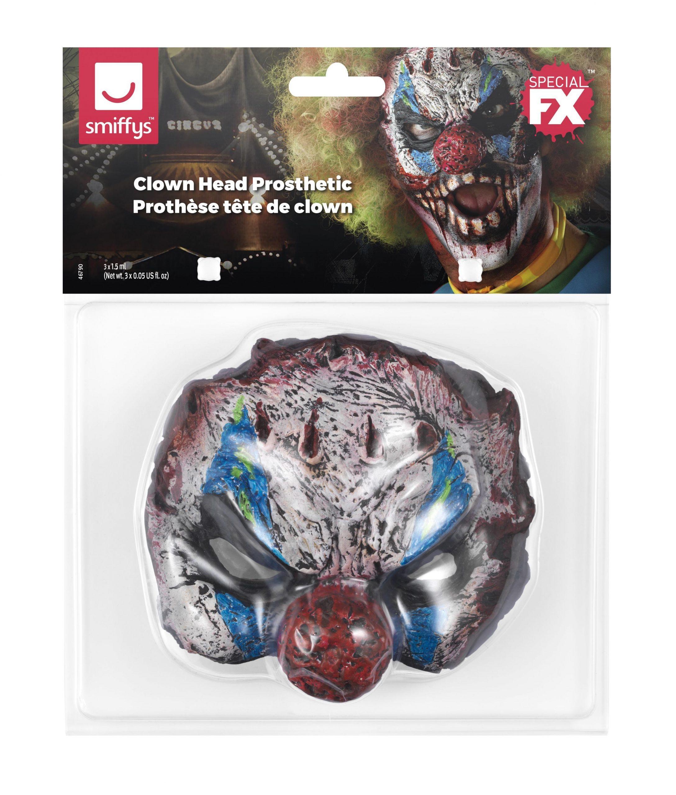 Foam-Latex Prothese Horror Clown