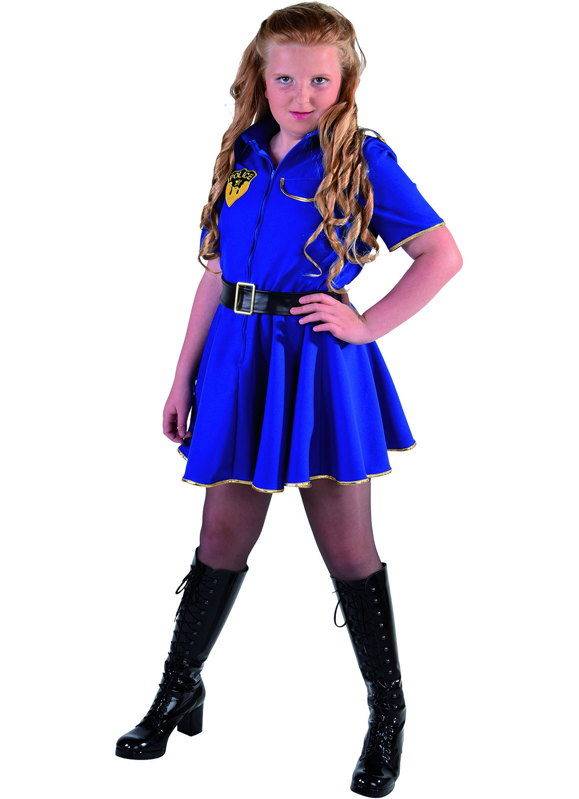 Jurkje Politie Blauw Meisje