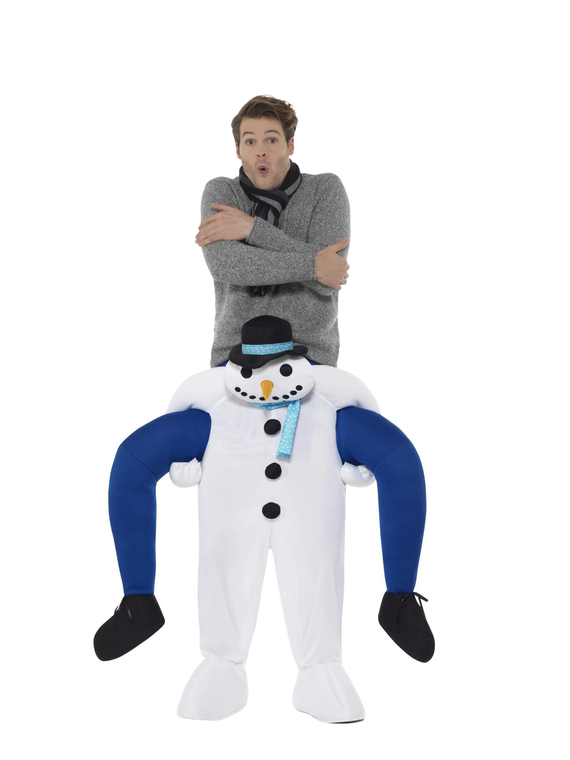 Kostuum ''Gedragen Door'' Sneeuwpop One Size