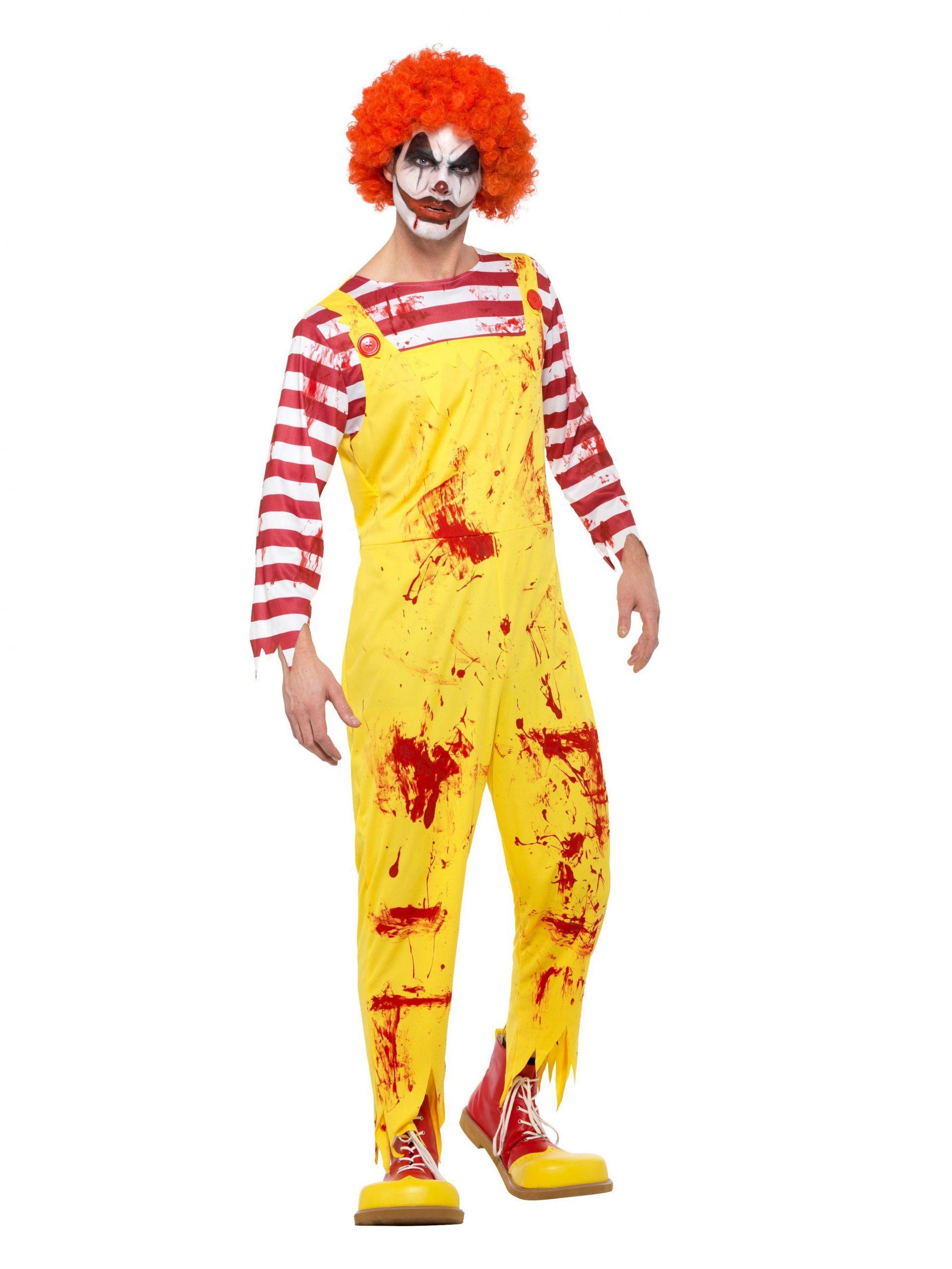 Kostuum Horror Clown McDonalds Heren