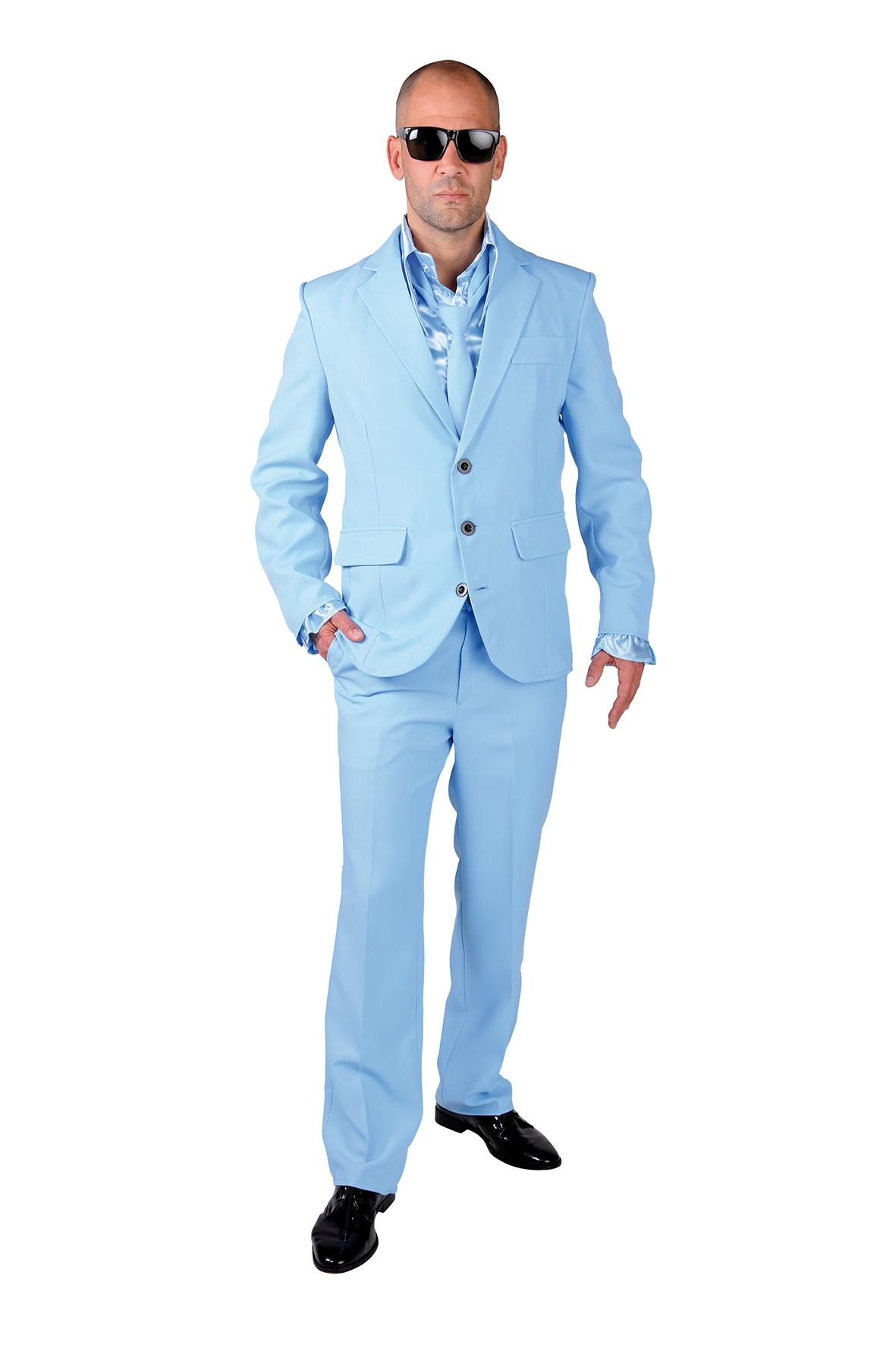 Kostuum Magic Suit Licht Blauw Heren