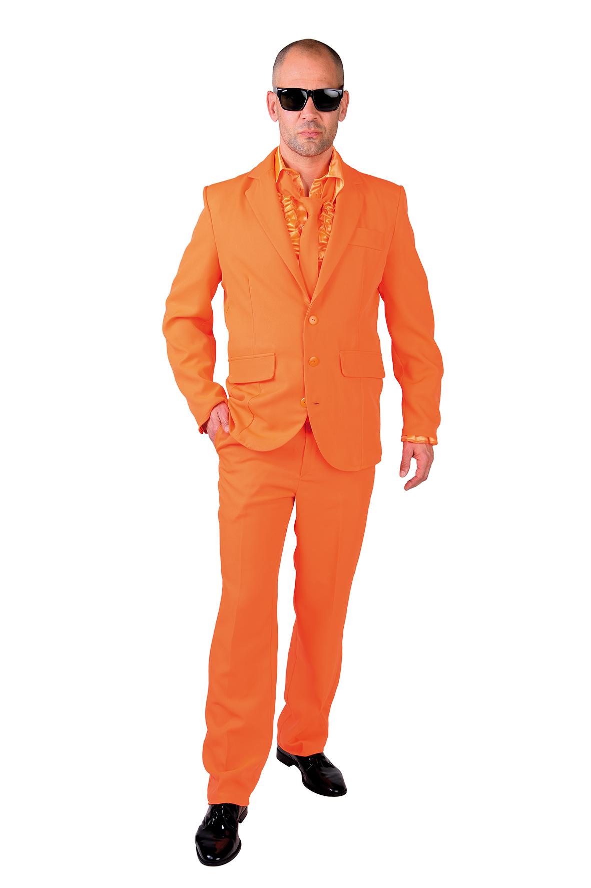 Kostuum Magic Suit Oranje Heren