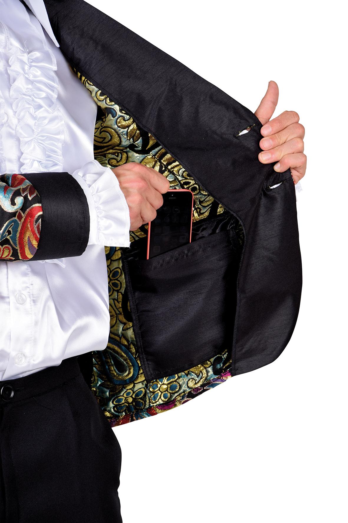 Kostuum Magic Suit Zwart Heren