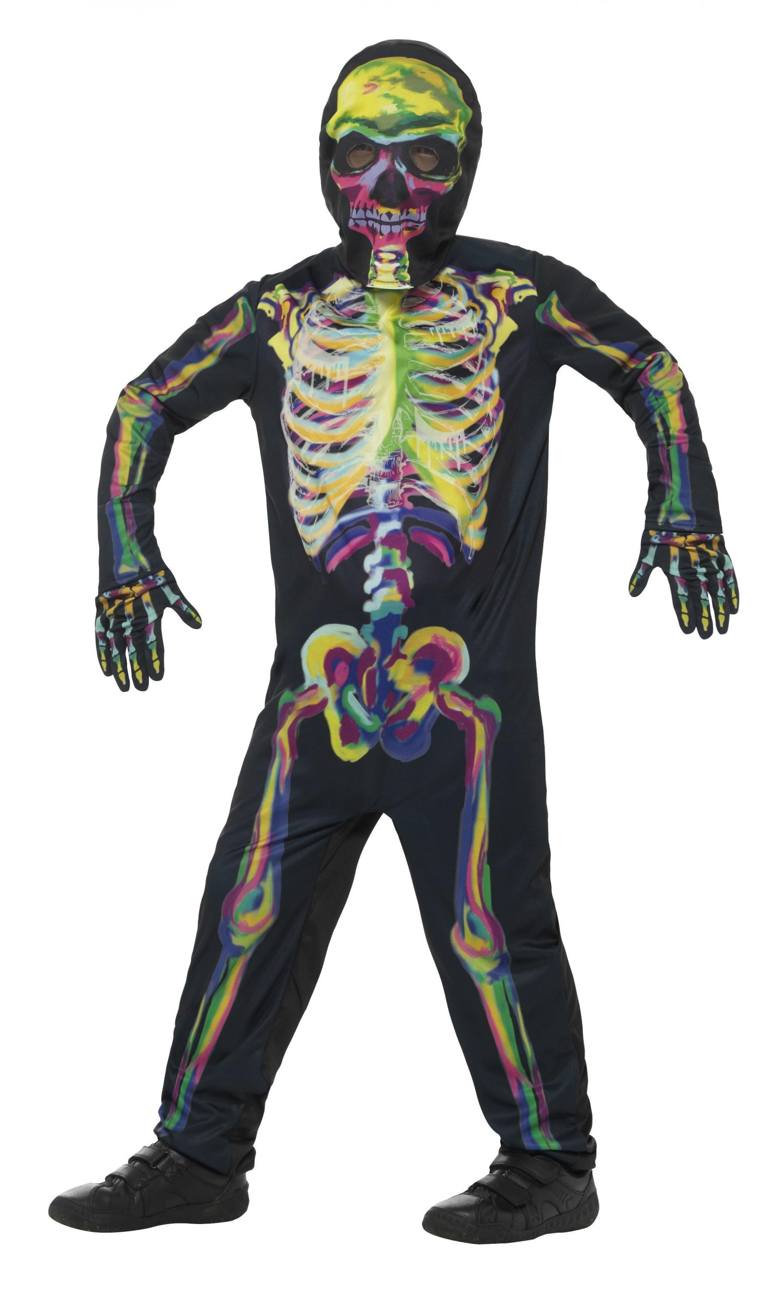 Kostuum Skelet Glow in the Dark Kind