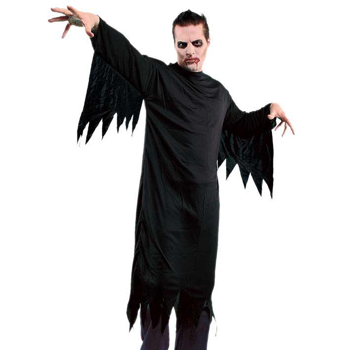 Kostuum Spook/Scream Zwart Volwassen One Size