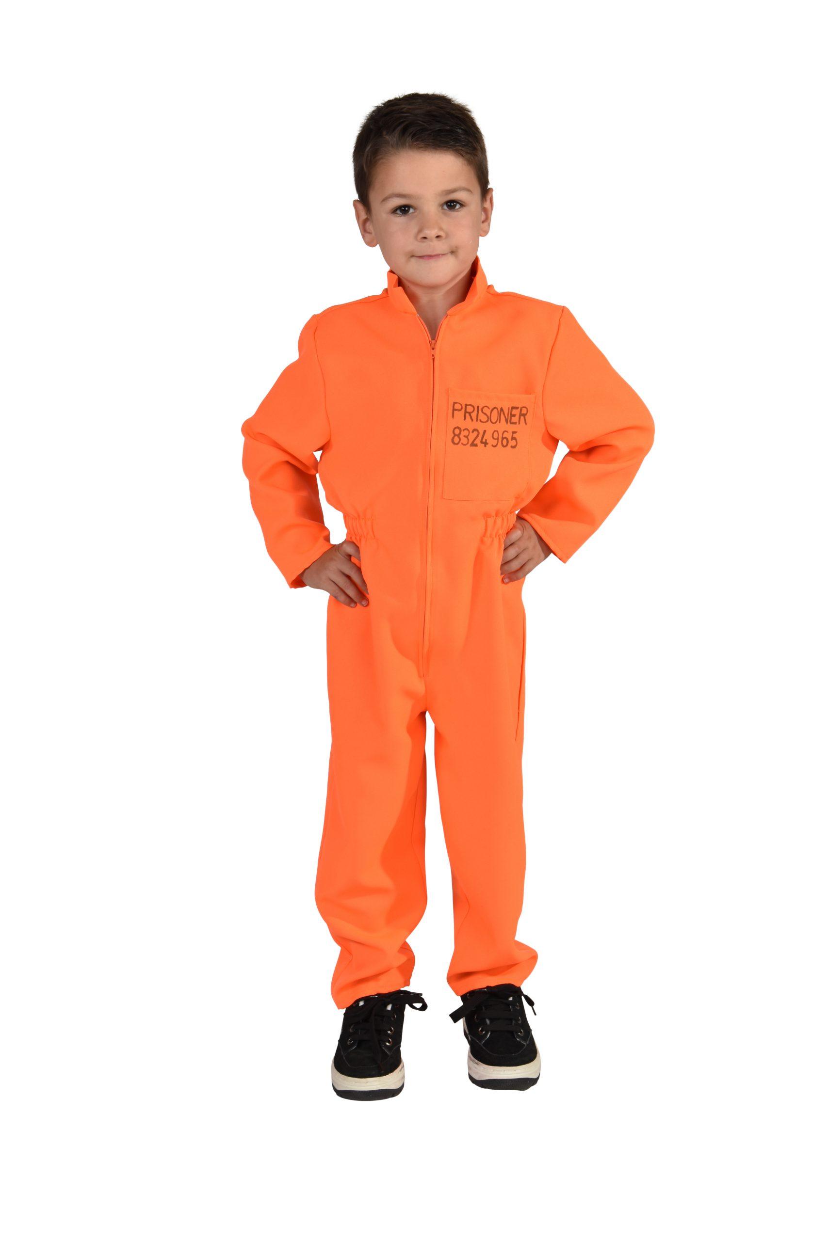 Overall Boef Oranje Kind