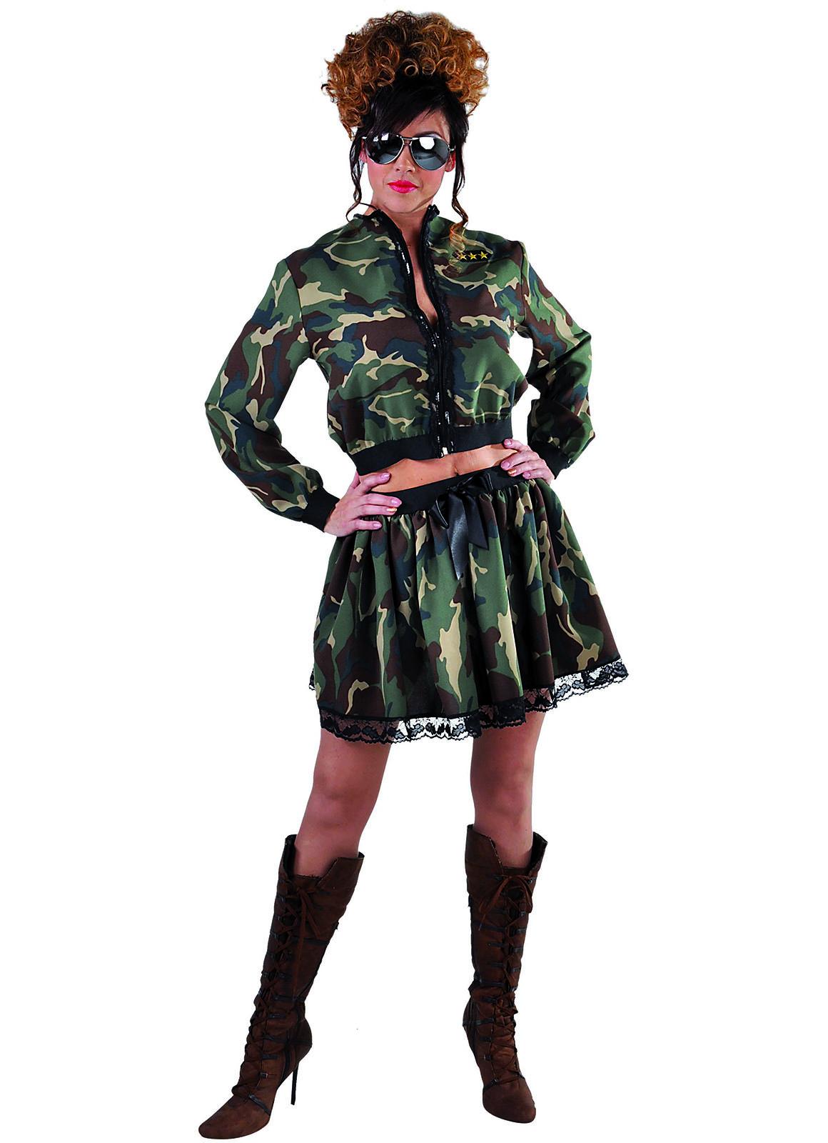 Rokje Camouflage Dames