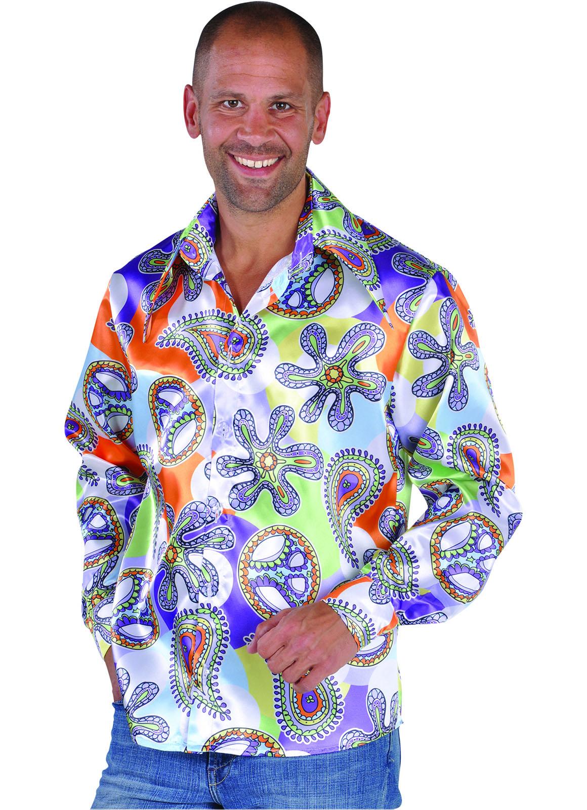 Shirt 70's Splach Cool Heren