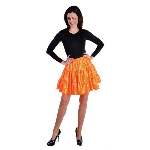 Volangen Rok Kort Oranje Volwassen