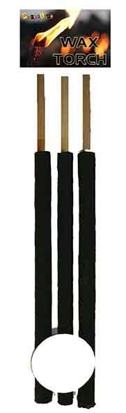 3st Wasfakkels (Brandtijd 60 min) 55cm
