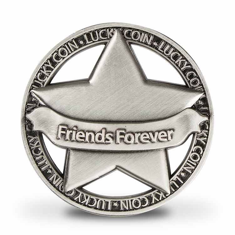 Open Geluksmunt Friends Forever