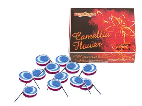 Scherts Vuurwerk Camellia Flowers 12stuks