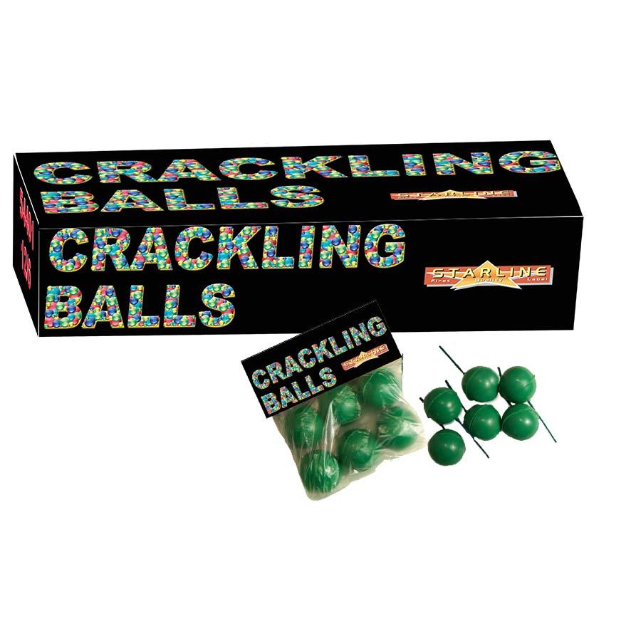 Scherts Vuurwerk Crackling Balls 6stuks
