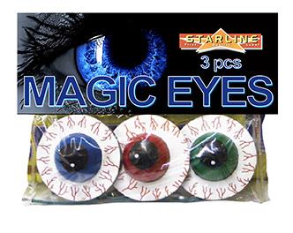 Scherts Vuurwerk Magic Eyes 3stuks