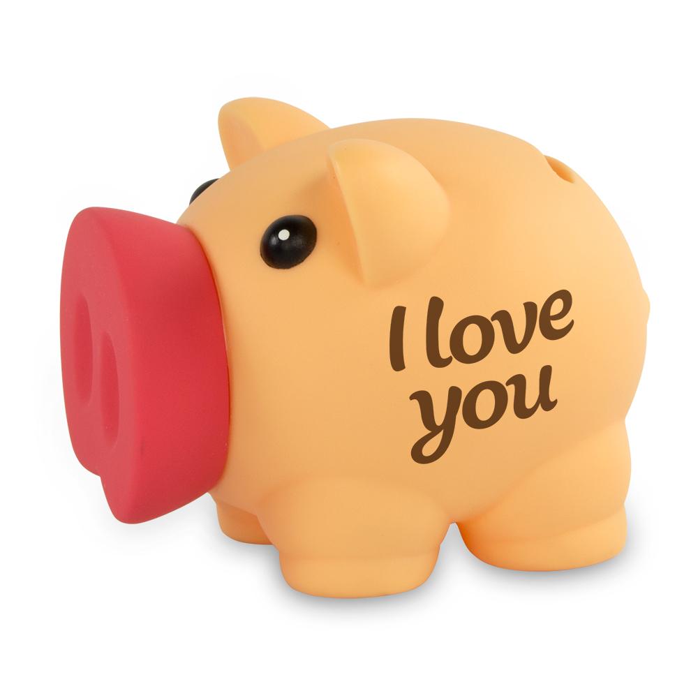 Spaarvarken I Love You