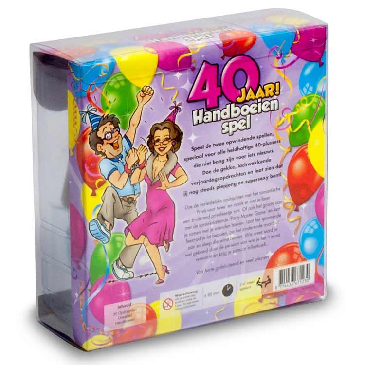 Spel;40 jaar! Handboeienspel