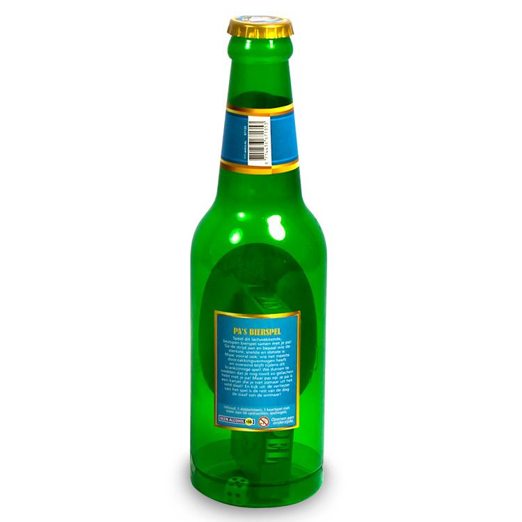 Spel;XXL Beerbottle Game Pa's Bierspel
