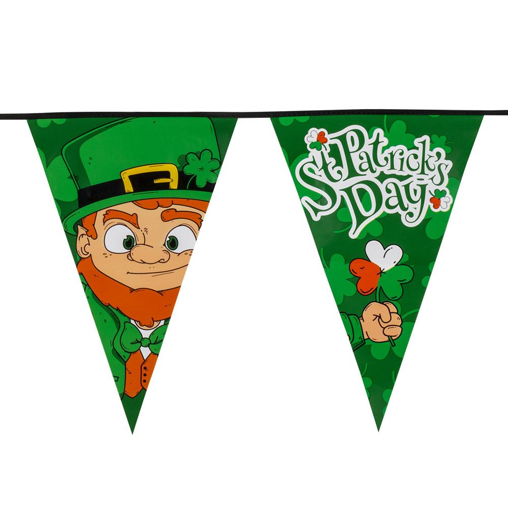 8m Vlaggenlijn XL St.Patrick's Day