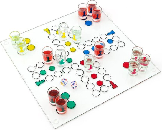 Drankspel Mens Erger Je Niet Glas