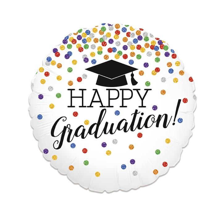 Folieballon Happy Graduation! 46cm