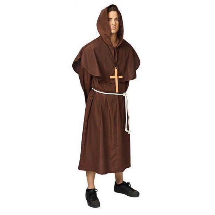 Kostuum Pater Bruin Heren