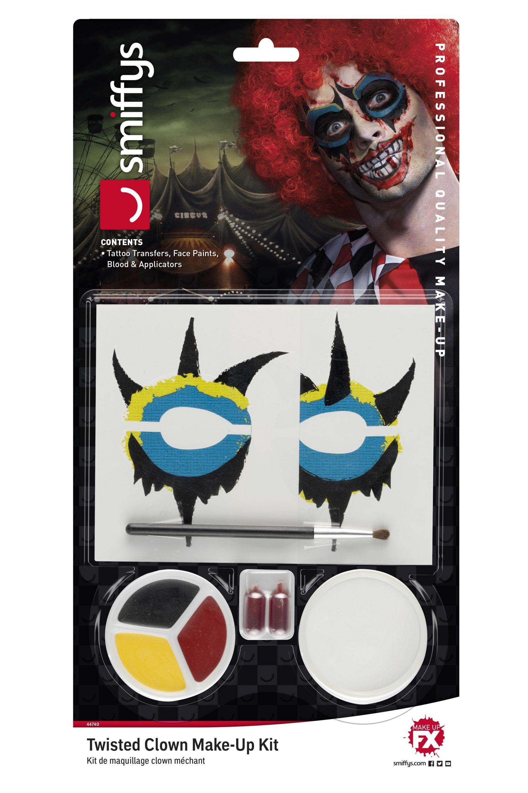 Make-Up Set Twisted Clown