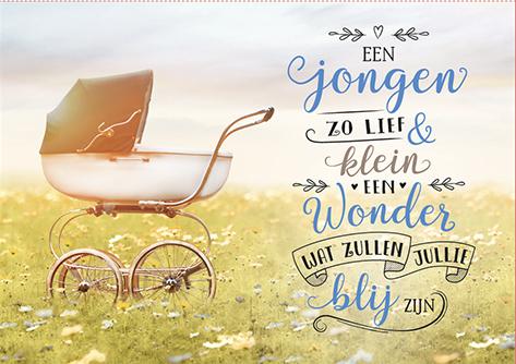 The Written Image Wenskaart Een Jongen
